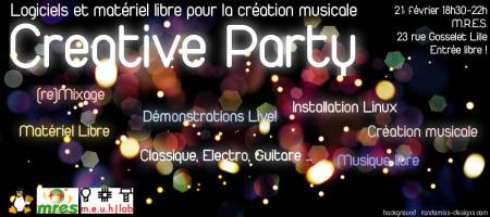 Creative Party II: musique
