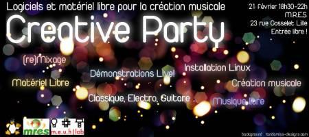 Creative Party II: musique